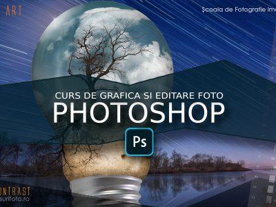 Curs de grafică şi editare foto în Adobe Photoshop
